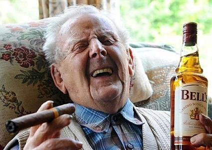 smoking hot old guy